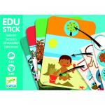 Edu-Stick Djeco stickere educative cu anotimpuri