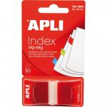 Index Apli Pop-Up rosu 25x45mm 50 file