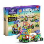 Joc magnetic educativ de constructie 3D Magspace 105 piese Perfect Mars