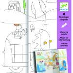 Plane de desenat Ascunselea Djeco