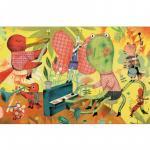 Puzzle 200 piese Orchestra din iarba-  Djeco