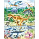 Puzzle Dinozauri, 35 Piese Larsen LRFH16