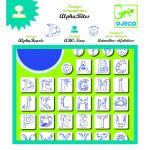 Set stampile Alfabet
