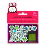 Set stampile Djeco  emoticons