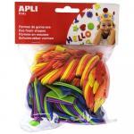 Set litere diverse culori 104 buc/set