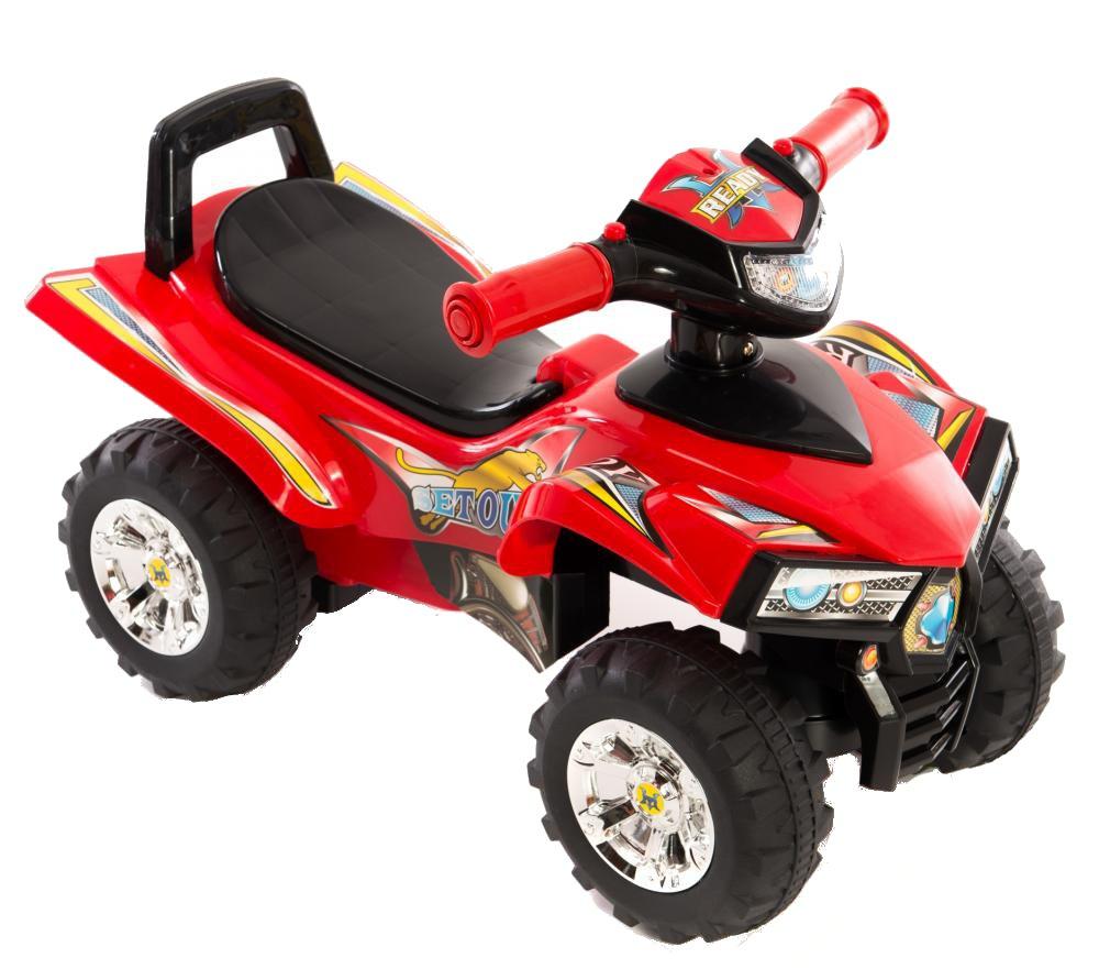 ATV fara pedale Kika Ride Red
