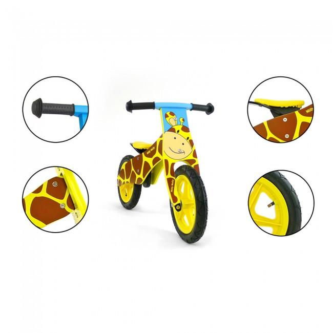 Bicicleta fara pedale Duplo Giraffe
