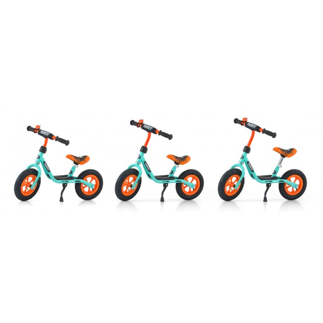 Bicicleta fara pedale Dusty 12 Orange Blue