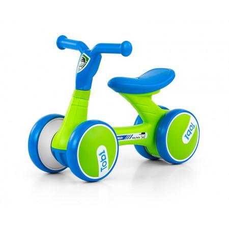 Bicicleta fara pedale Tobi Blue-Green
