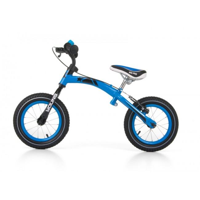 Bicicleta fara pedale Young Blue