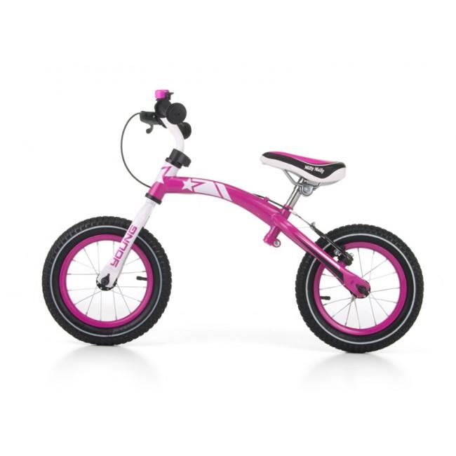 Bicicleta fara pedale Young Pink