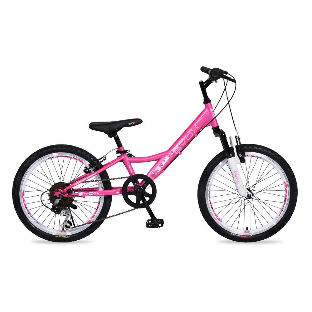 Bicicleta pentru copii Byox Princess Pink 6 viteze 20 inch imagine