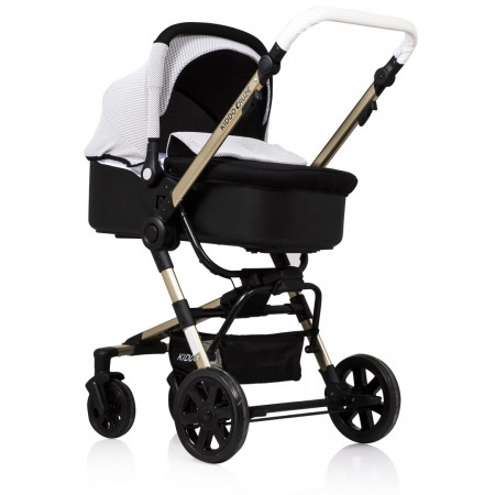Carucior Kiddo 3 in 1 Cruze Deluxe Gold Grey