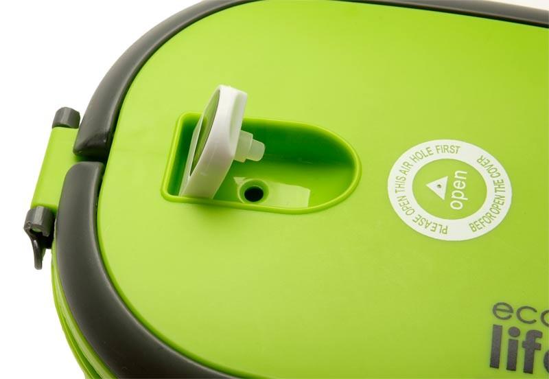 Castron termos oval 800 ml culoare verde imagine