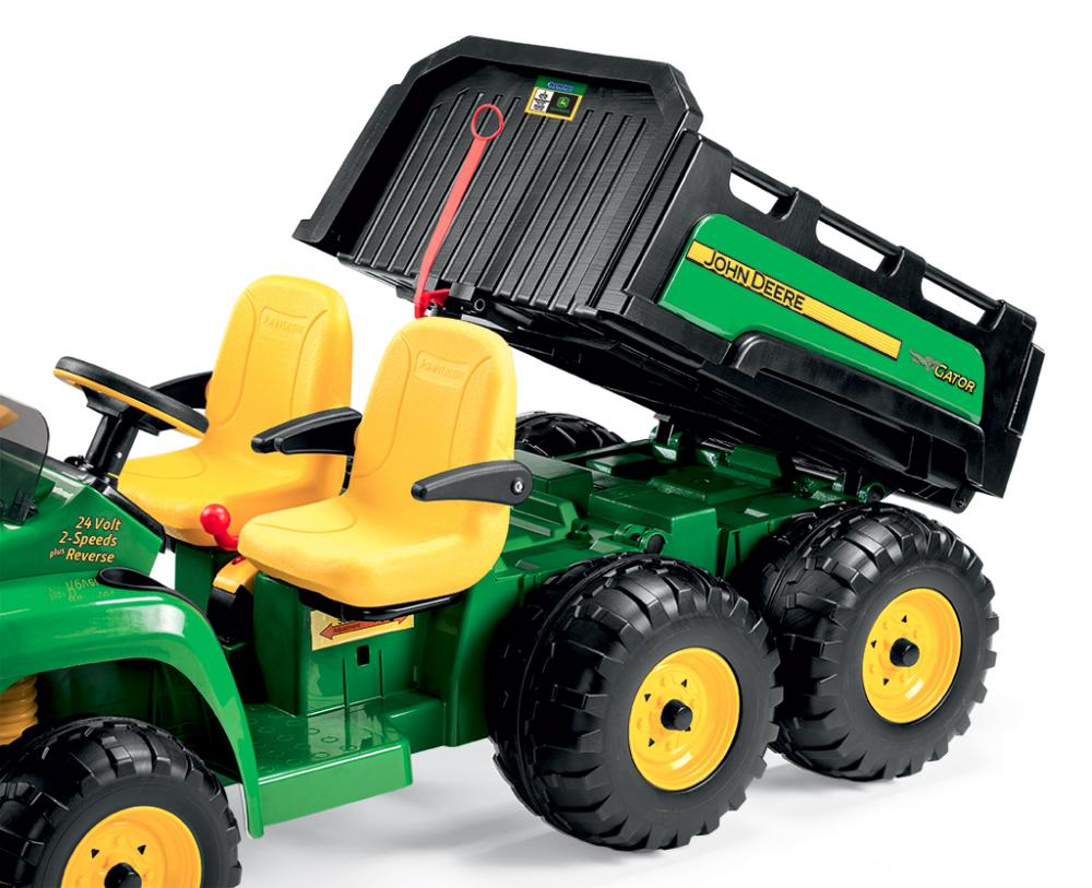 Tractor electric John Deere Gator HPX 6x4 Peg Perego