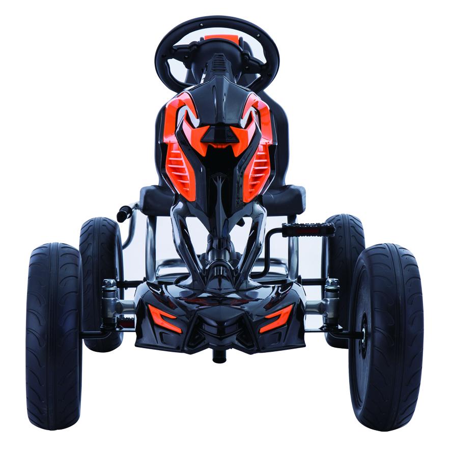 Kart cu pedale Go Kart Black