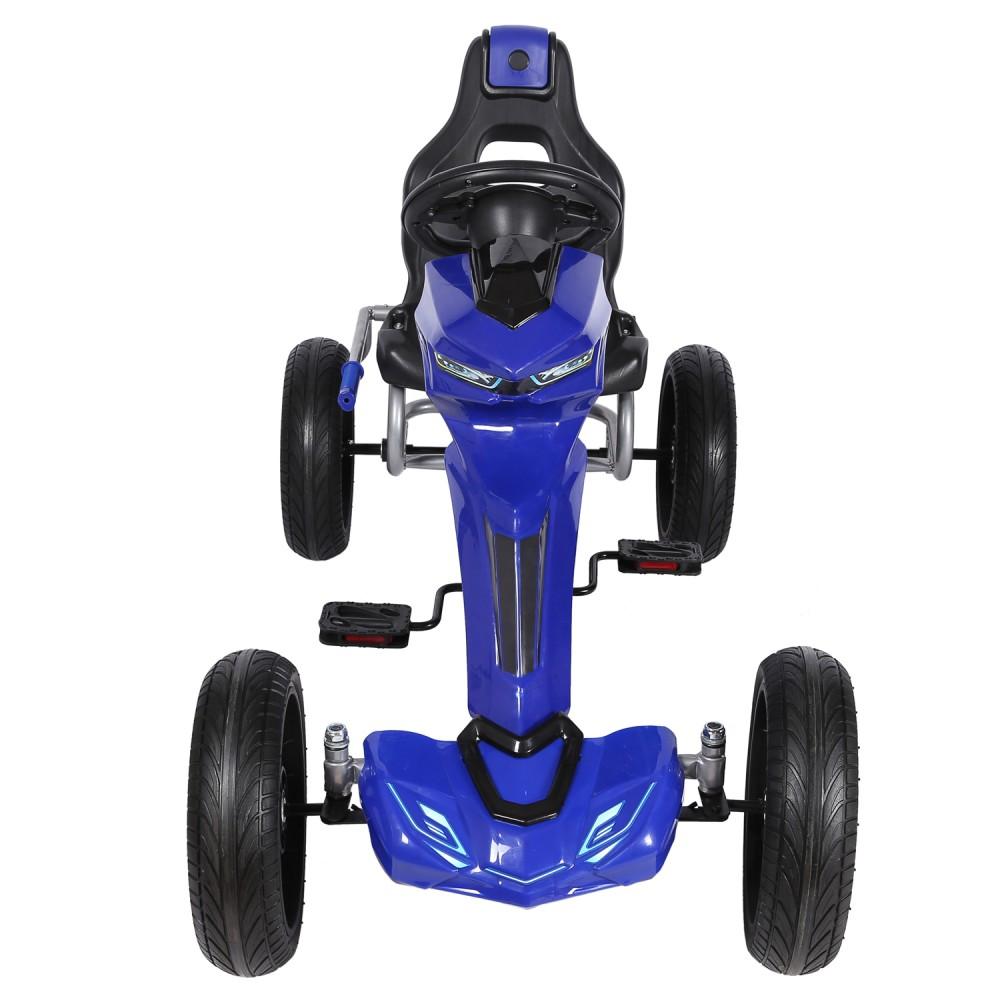 Kart Cu Pedale Go Kart Extreme Blue
