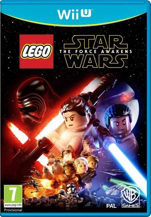 Joc lego star wars the force awakens wii u