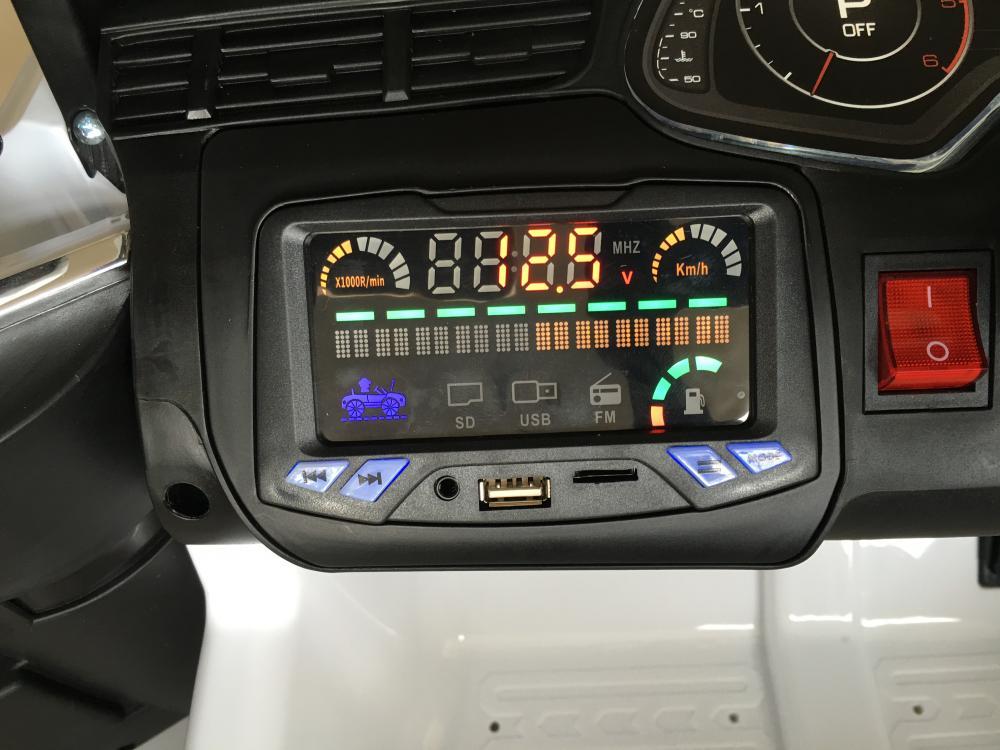 Masinuta electrica cu scaun de piele Audi Q7 Black imagine