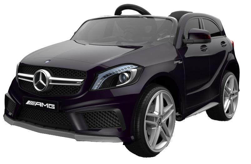 Masinuta electrica cu telecomanda Mercedes Benz A45 AMG Black