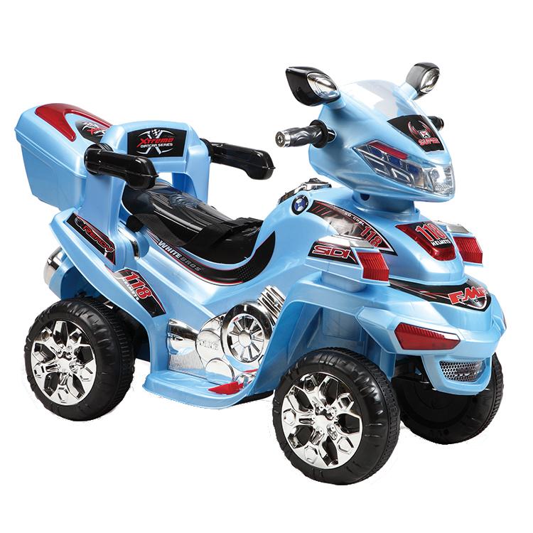 Motocicleta electrica cu telecomanda Buggy Blue
