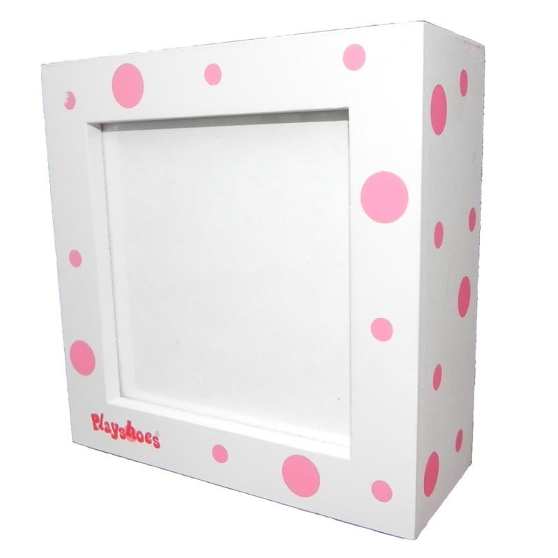 Rama foto din lemn Bubbles Pink