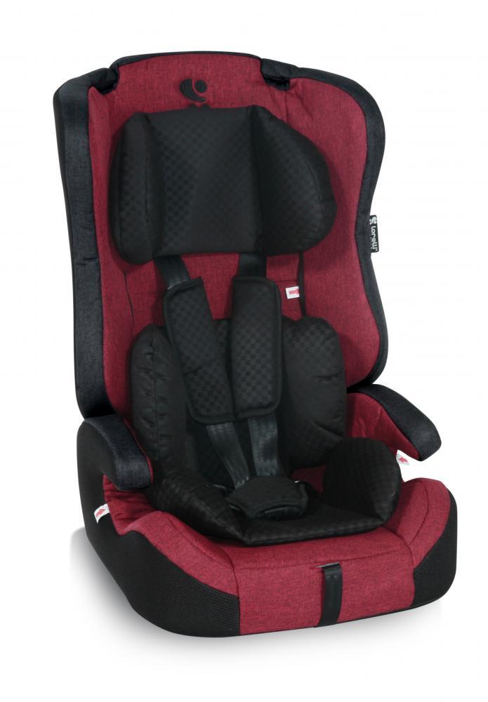 Scaun auto 9-36 kg Isofix Murano Red Black