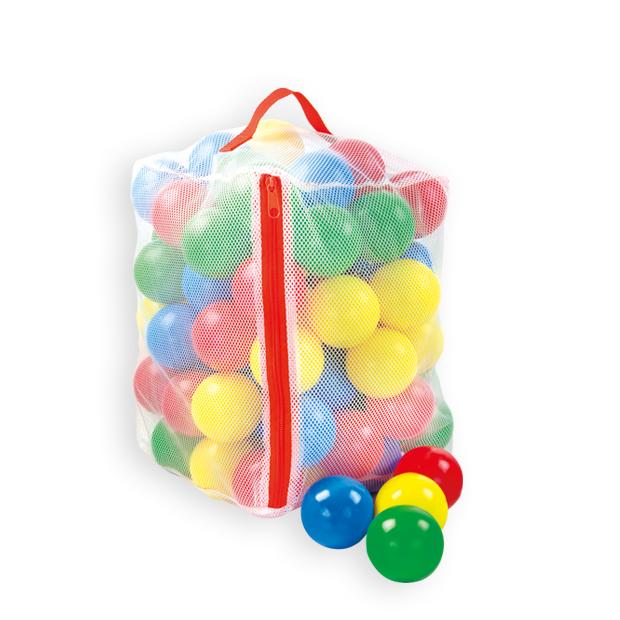 Set 100 bile colorate in saculet