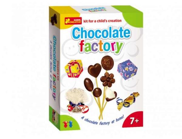 Set creativ copii Fabrica de ciocolata