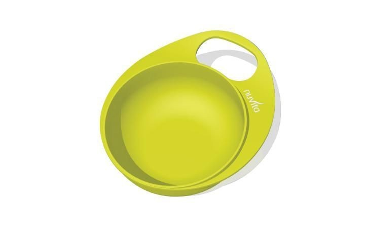 Set farfurie si castronel 8461 Nuvita EasyEating verde