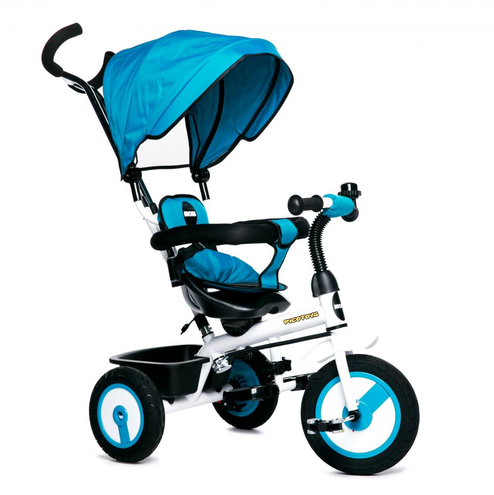 Tricicleta copii cu scaun reversibil Evolution Blue