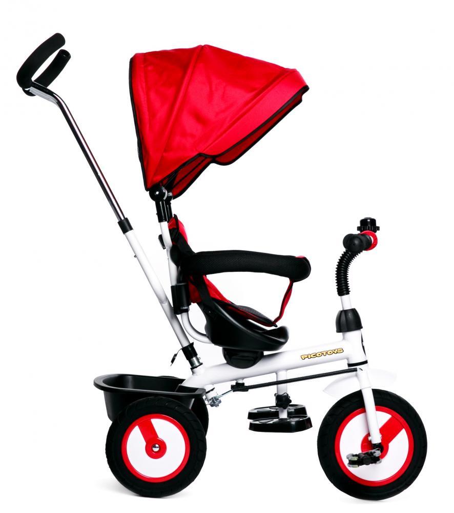 Tricicleta copii cu scaun reversibil Evolution Red