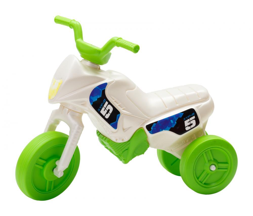 Tricicleta pentru copii Enduro Mini 18 alb verde