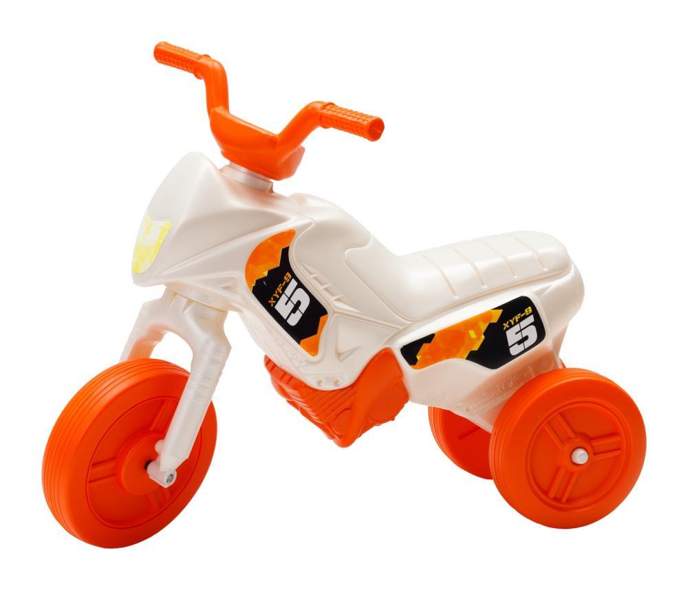 Tricicleta pentru copii Enduro Mini 19 alb portocaliu