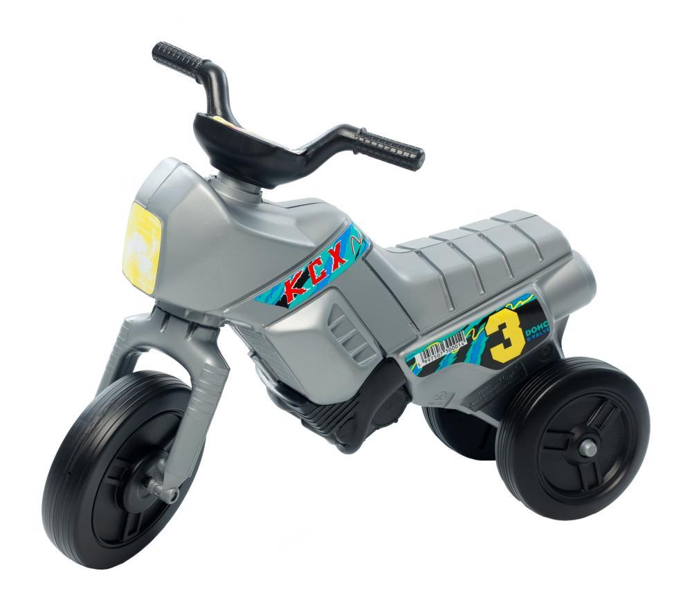 Tricicleta pentru copii Enduro Mini A1 argintiu
