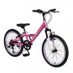 Bicicleta pentru copii Byox Princess Pink 6 viteze 20 inch