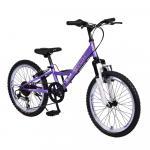 Bicicleta pentru copii Byox Princess Purple 6 viteze 20 inch