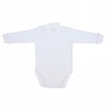 Body B08 basic alb 1- 1,5 ani (80 cm)