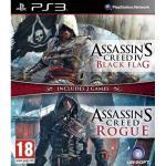 Joc compilation assassins creed 4 black flag&assassins creed rogue ps3