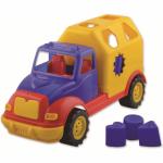 Camion cu forme de sortat 28 cm Ucar Toys UC05