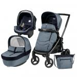 Carucior 3 in 1 Black Mat Team Peg Perego Horizon