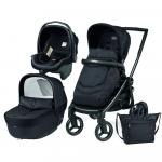 Carucior 3 in 1 Black Mat Team Peg Perego Onyx