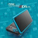 Consola Nintendo new 2ds xl  black turquise gdg