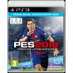 Joc pro evolution soccer 2018 premium edition ps3