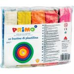 Plastilina Morocolor 550 g  10 culori cutie