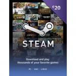 Steam  wallet 20 euro (CD KEY) pc