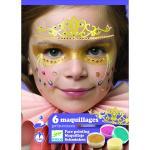 Set make-up culori non alergice Djeco printese