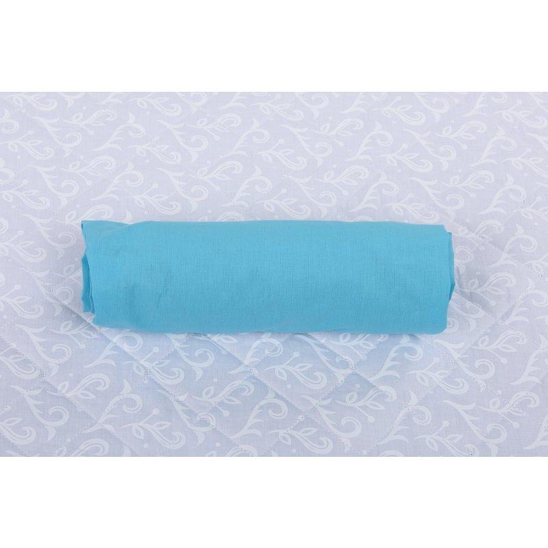 Cearceaf Cu Elastic Pentru Patut De 120x 60 Cm Bleu