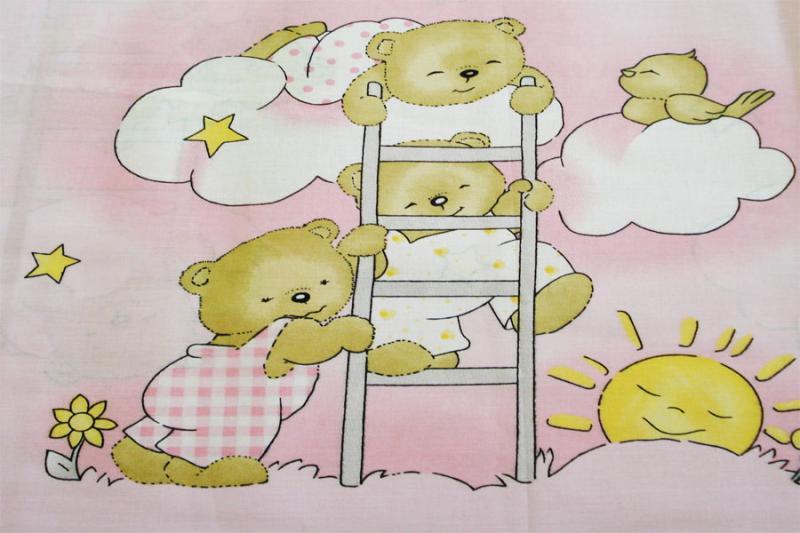 Baldachin Teddy Scarita roz