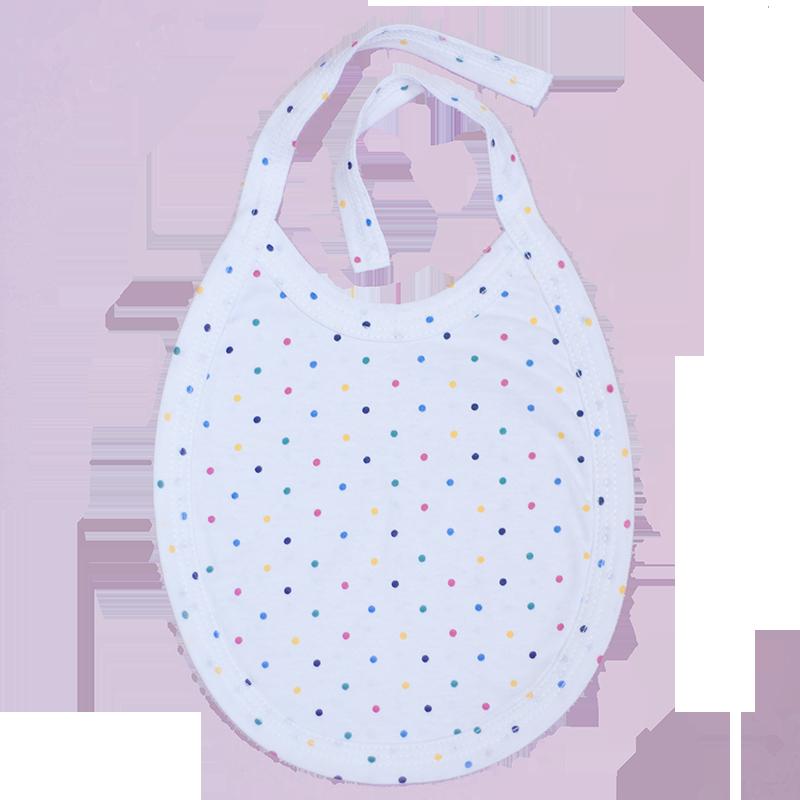 Baveta cu buline 0-1 luna ( 50 cm)